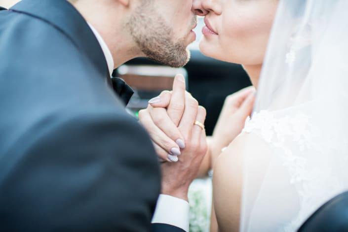 Hochzeitsreportage intim