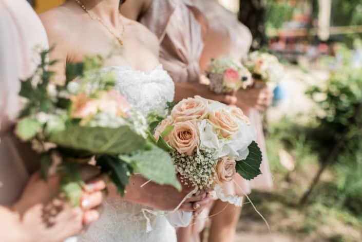 Hochzeitsreportage Brautstrauß