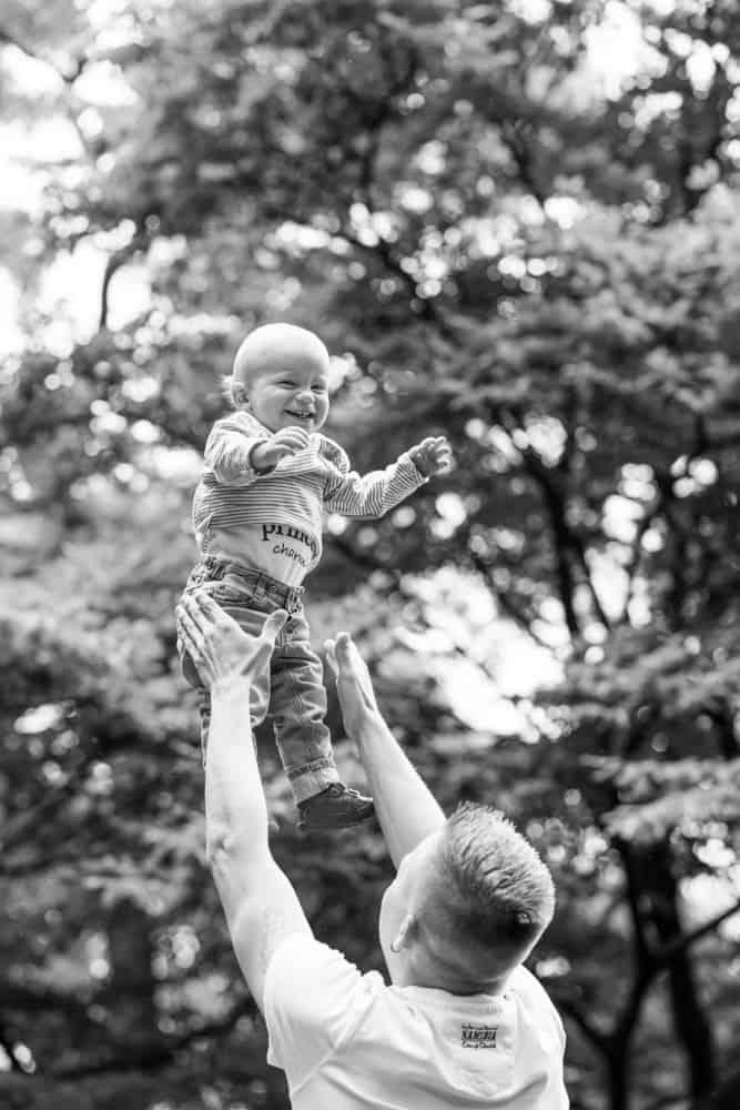 Familienfotografie Berlin Beata Torge - Vater mit Kind