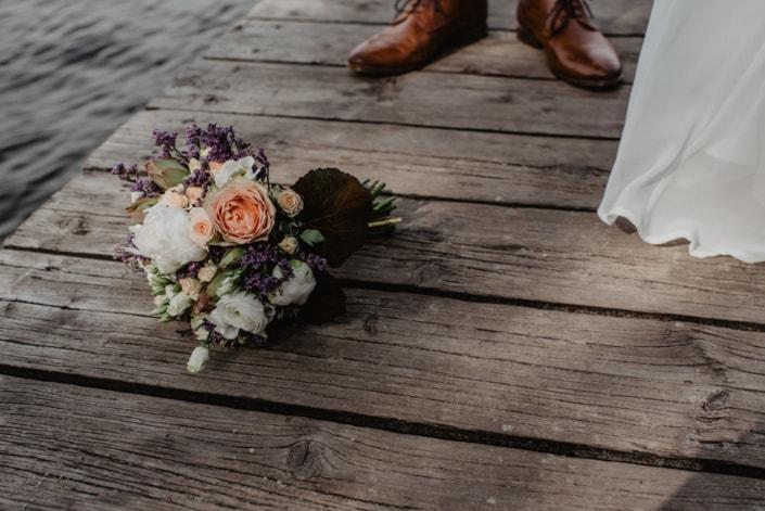 Hochzeitsreportage-Blumenstrauß